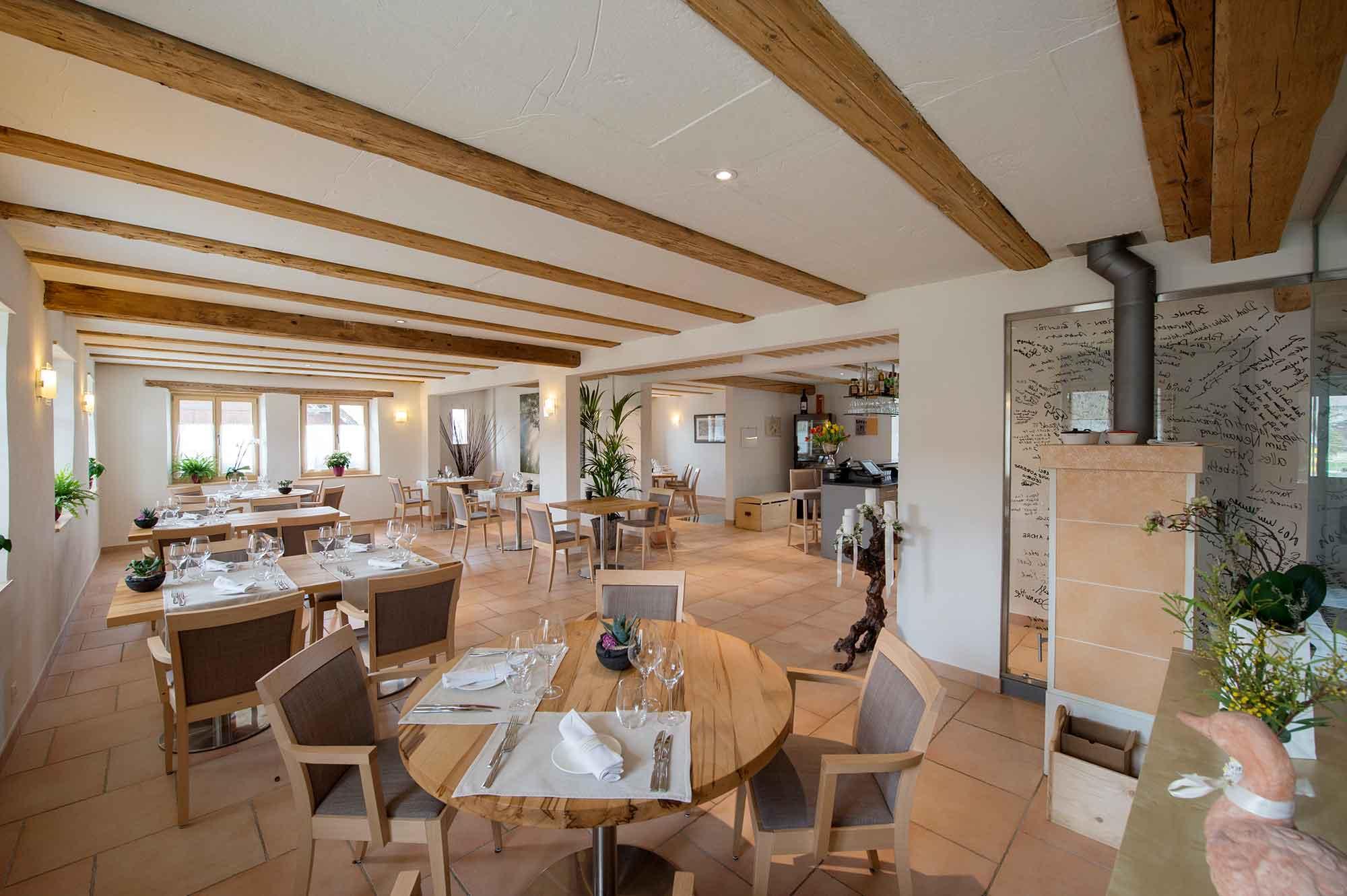 Hotel Restaurant La Maison Salvagny in Salvenach / Murten - Willkommen